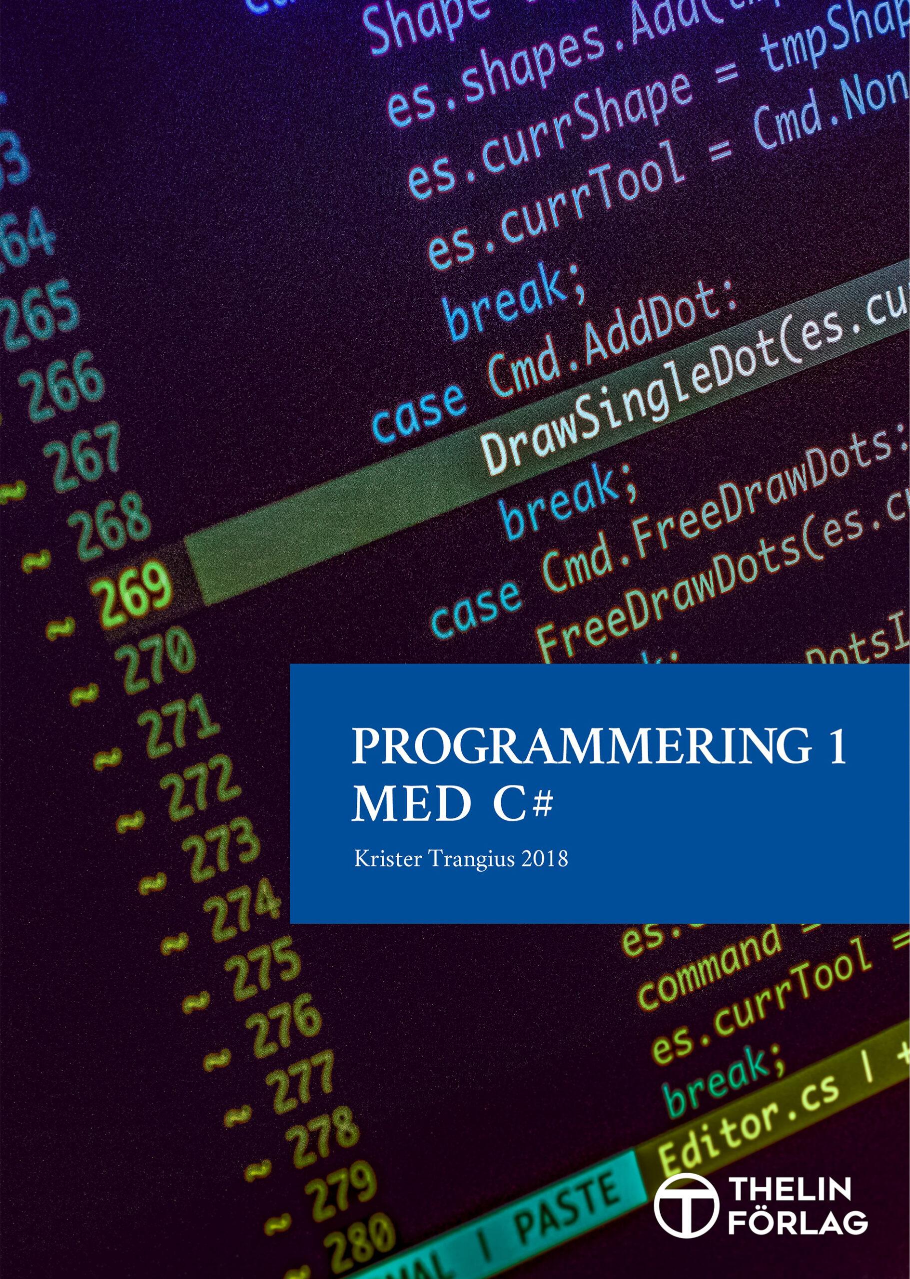 Programmering 1 med C# V2018